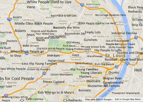 8 Maps of Missouri That Are Just Too Perfect (And Hilarious)