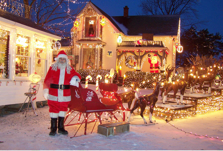 Christmas In Indiana.Top 9 Christmas Towns In Indiana