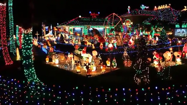 7 Places In Florida With The Most Unbelievable Xmas Lights