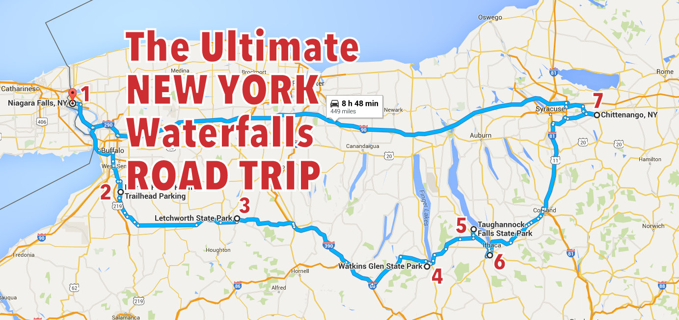 The Ultimate New York Waterfalls Road Trip Only In Your State