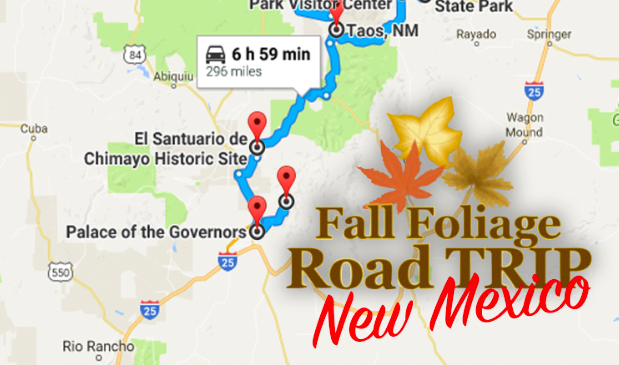 The Ultimate Fall Foliage Road Trip Through New Mexico on map tx nm, map of cuba new york, map of cuba mo, map of cuba united states, map of cuba puerto rico, map of new mexico,