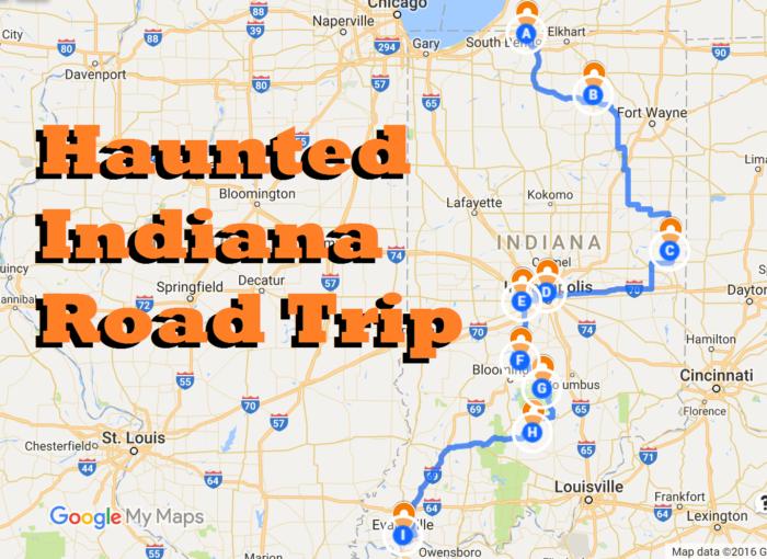 Haunted Indiana Road Trip