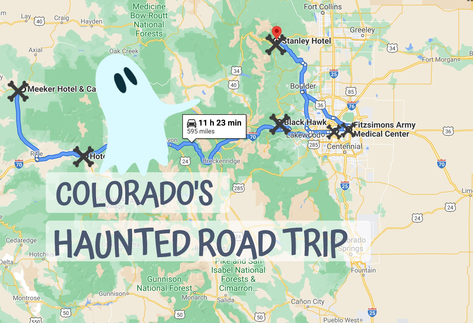 The Haunted Road Trip That Will Lead You To The Scariest Places In Colorado