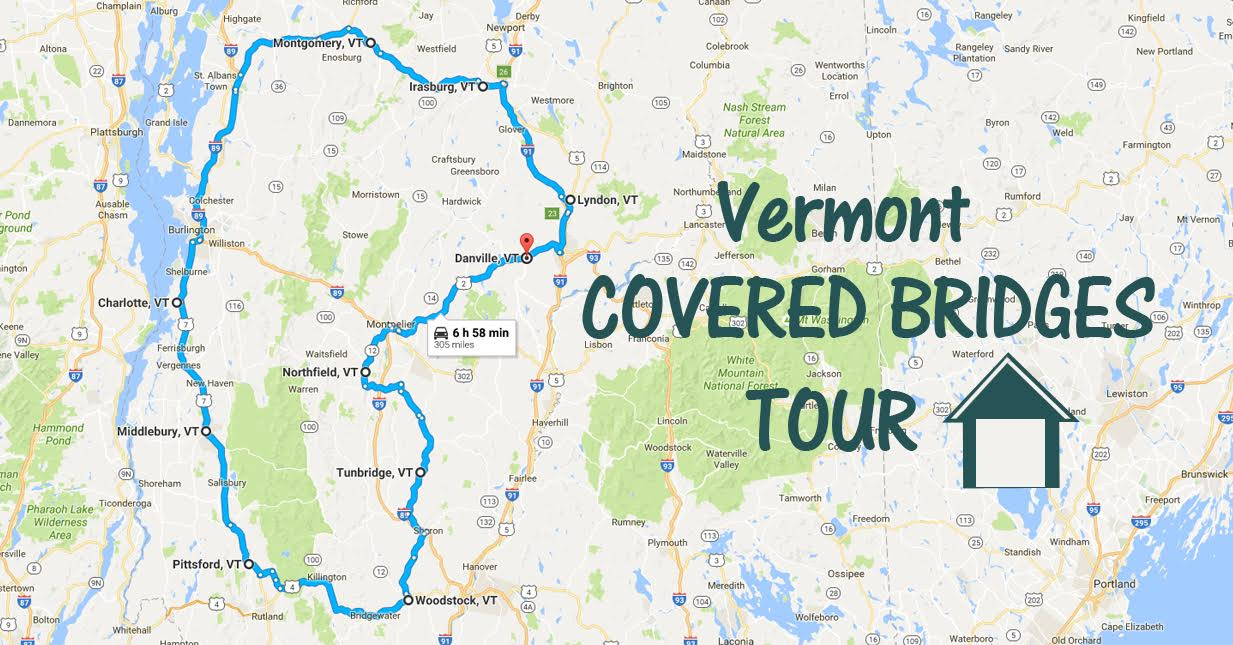 map of vermont covered bridges A Covered Bridge Tour In Vermont That S Like A Dream map of vermont covered bridges