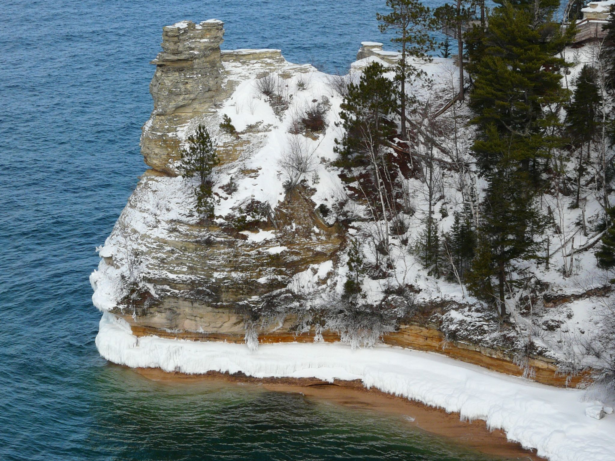 Pictured Rocks Is The Best Place For Winter Hiking In Michigan