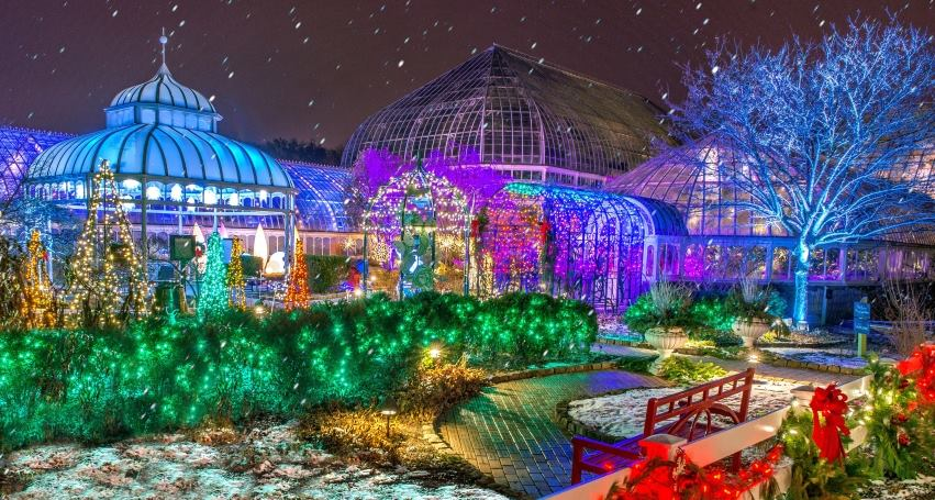 Christmas Lights In Pa.7 Best Christmas Light Displays In Pittsburgh 2016