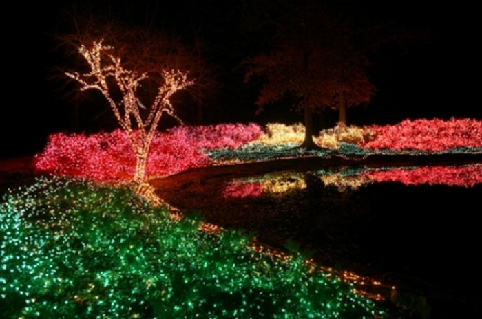 Embark On The Most Magical Christmas Lights Road Trip In Oklahoma