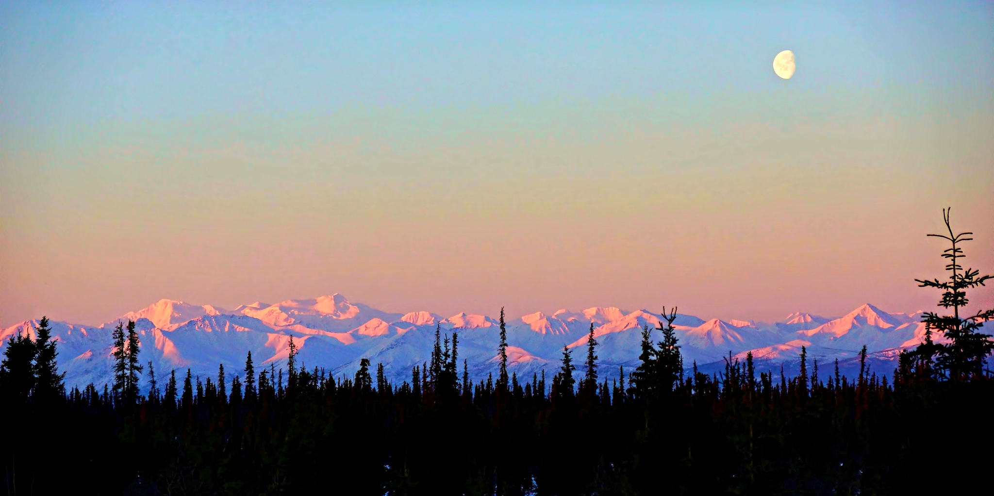 Image result for alpenglow alaska