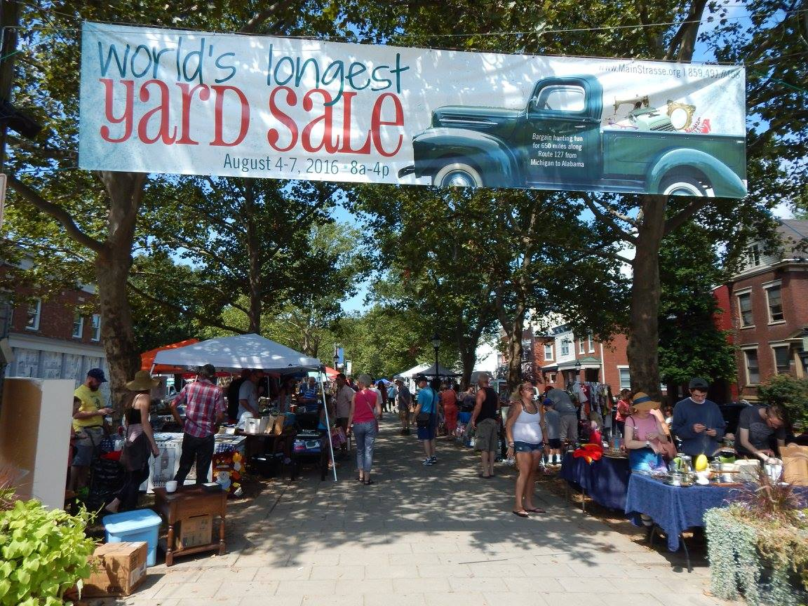 The Biggest Yard Sale In Ohio And The World S Largest 127 Yard Sale