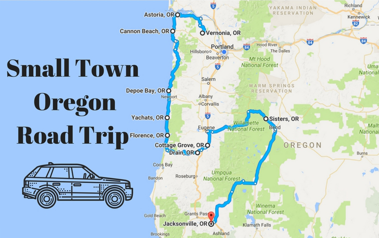 Take This Road Trip Through Oregon S Most Picturesque Small