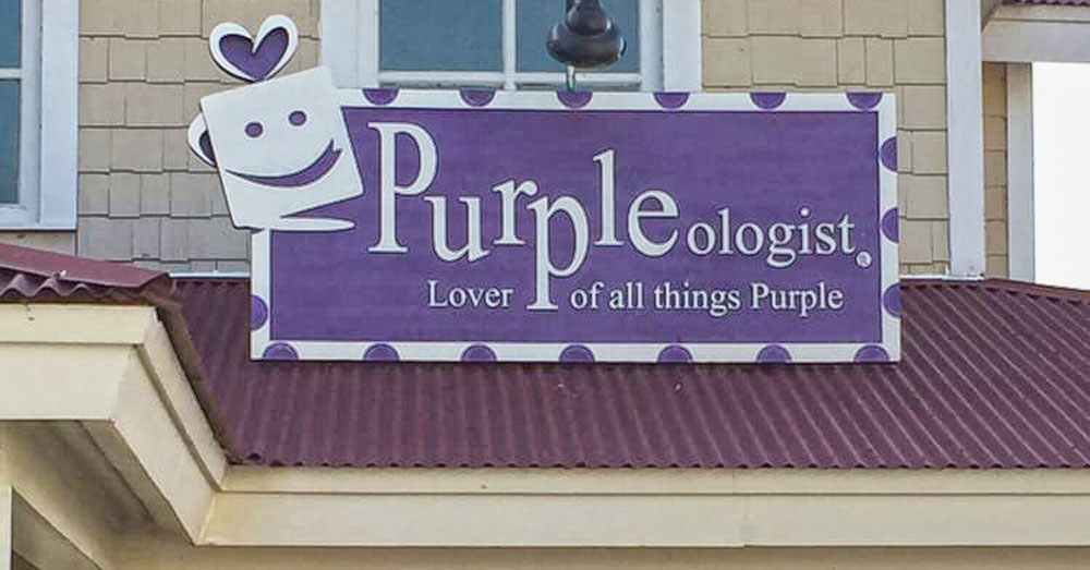 Visit Purpleologist, The One Store In South Carolina Where Everything Is Purple