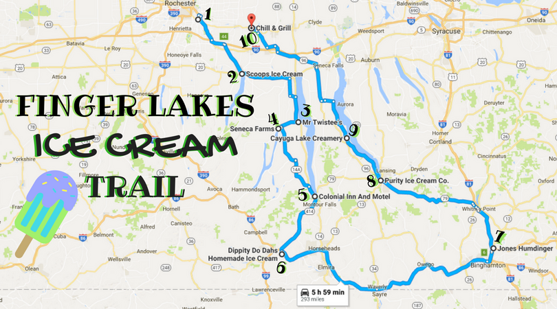 The Ultimate Ice Cream Trail Through The Finger Lakes In New ...