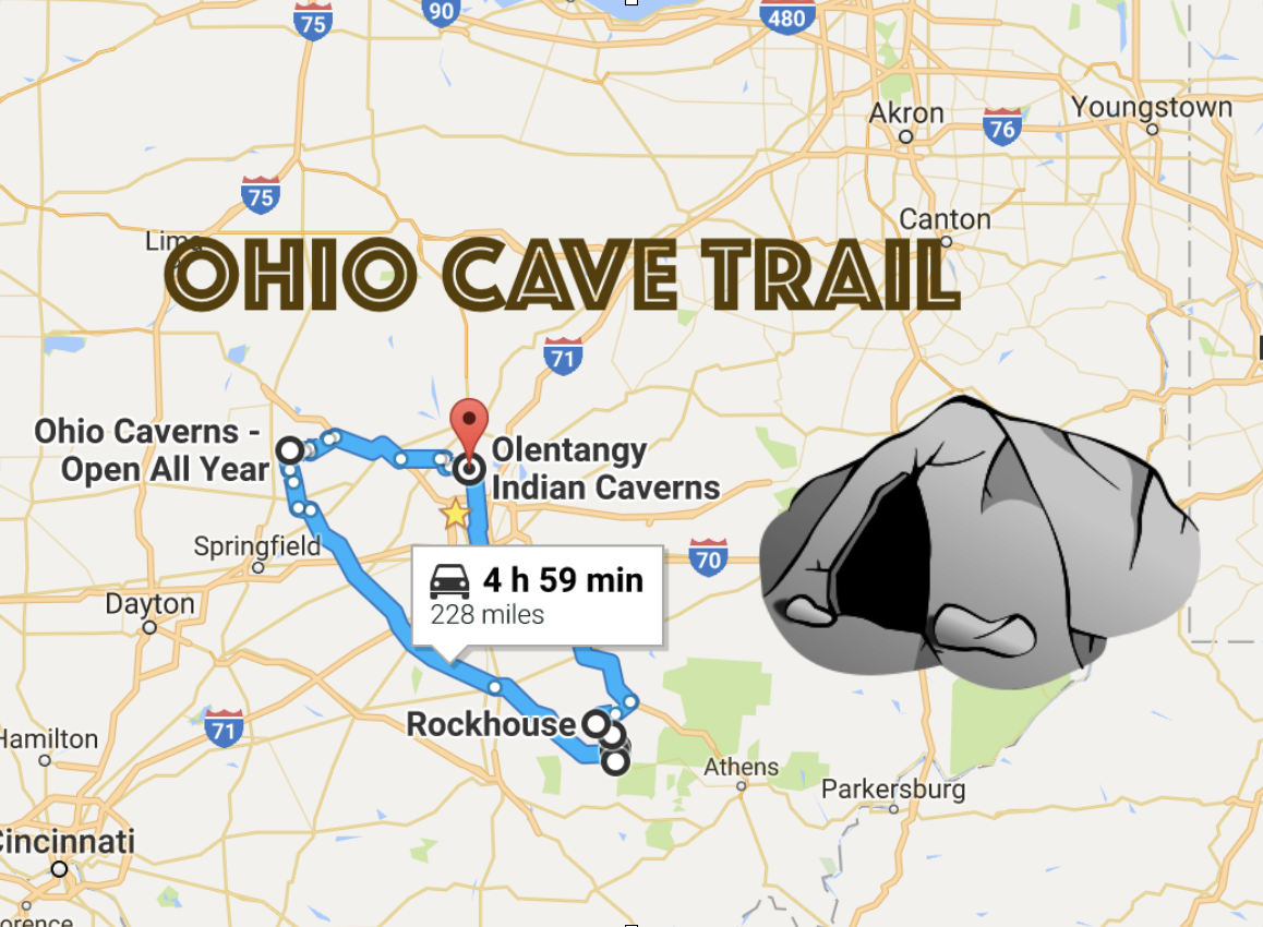 Road Trip To Ohio\'s Best, Most Incredible Caves: Ohio Cave Trail
