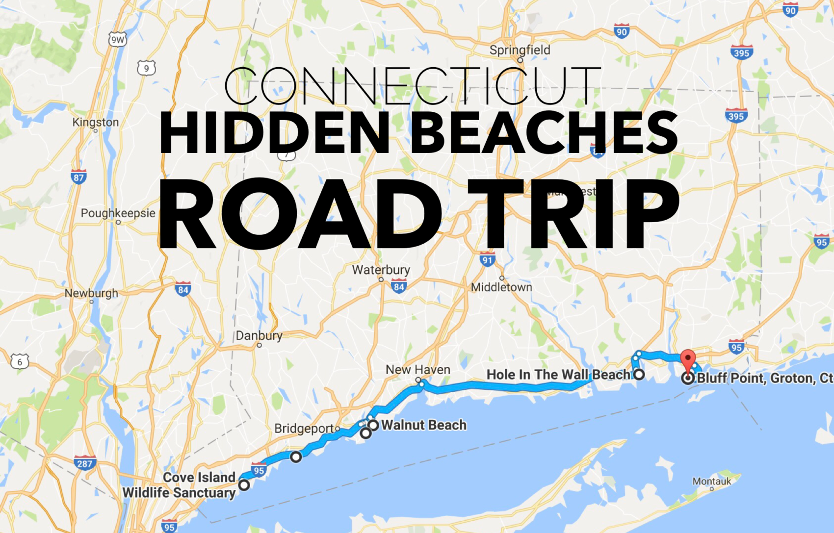 This Road Trip Will Take You To The Best Beaches In Connecticut