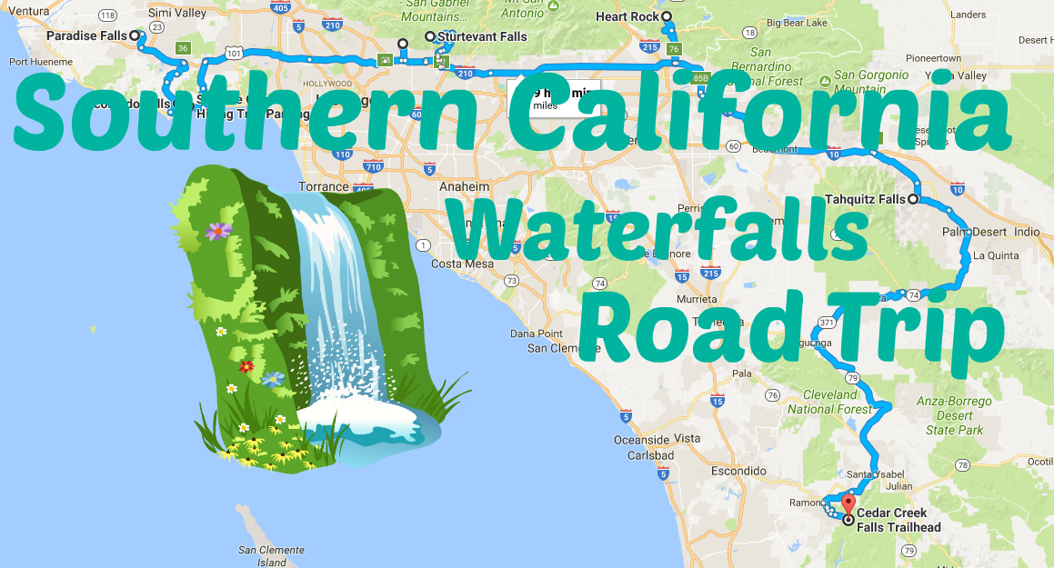 Take A Road Trip To 8 Of Southern California's Most Spectacular Waterfalls