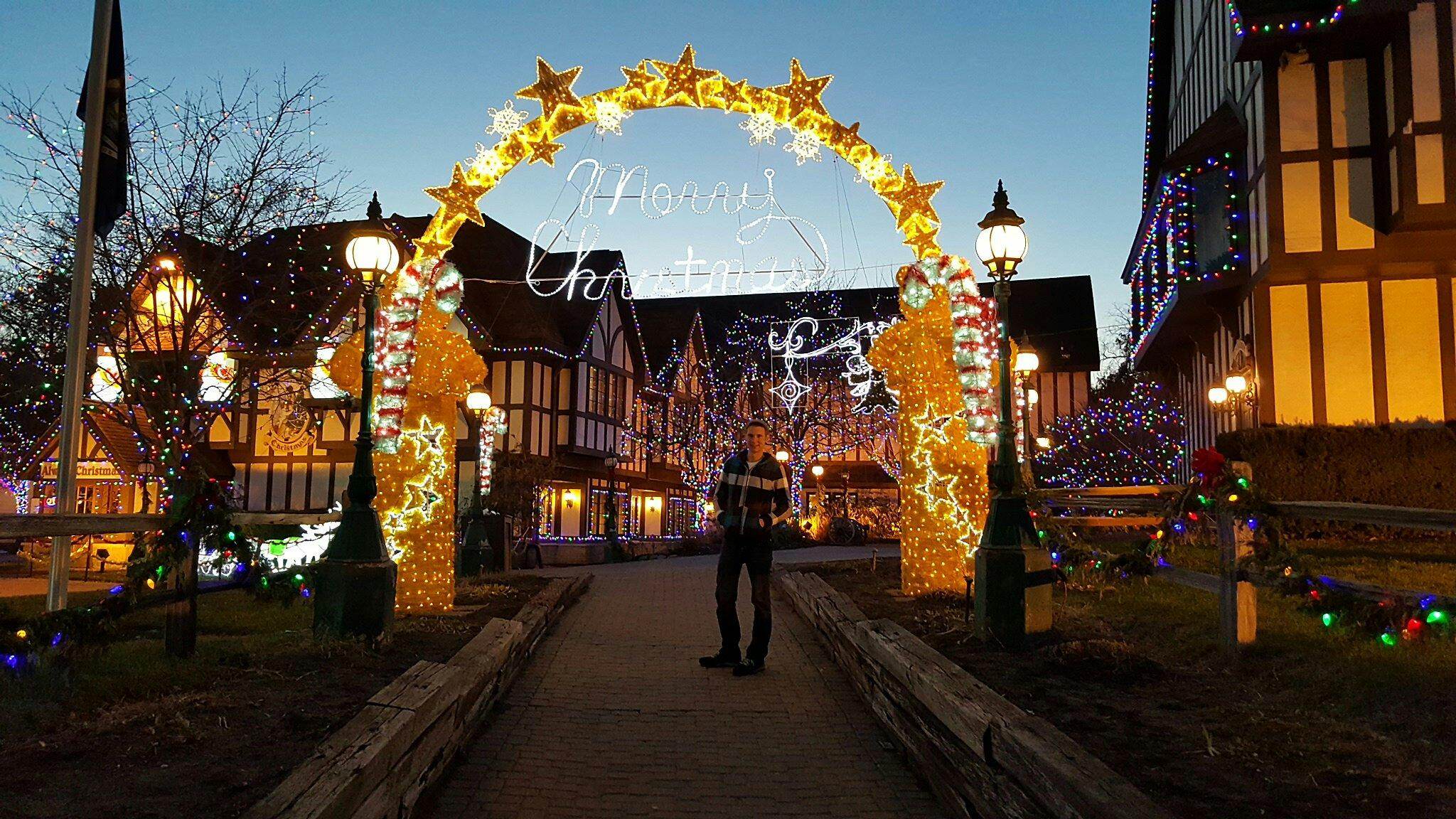 crossroads village magical christmas walk michigan
