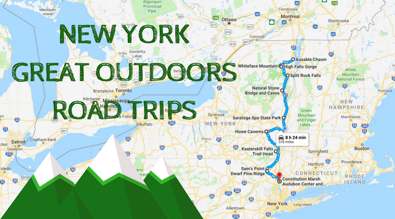 The Ultimate New York Outdoor Road Trip That You Can Take on