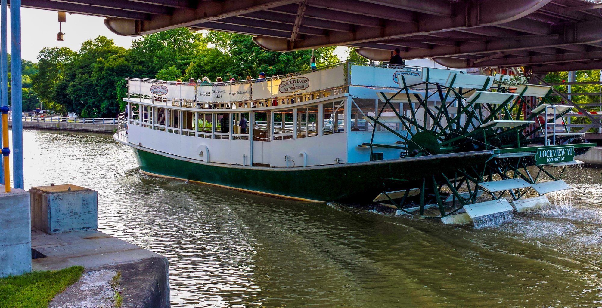 Erie Canal Cruises Is The Best Canal Boat Ride In Buffalo