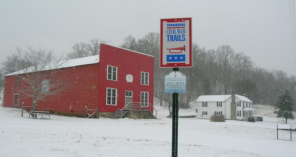 Big Red Store >> The Big Red Store Is Most Historic General Store In Tennessee