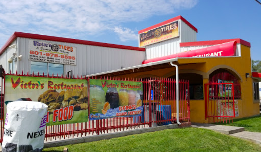 Tire Places Open On Sunday >> Victor S Restaurant In Slc Utah Is Located Inside A Tire Store