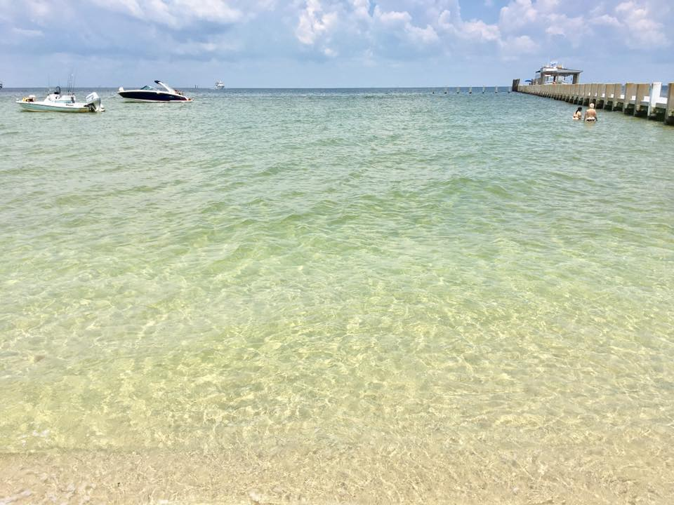 The Mississippi Beach With The Clearest Water In The State