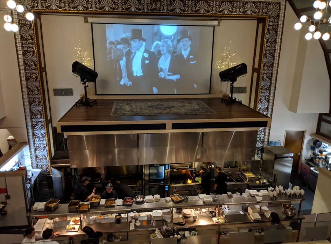 Webb Custom Kitchen Is In A 1927 Silent Movie Theater In