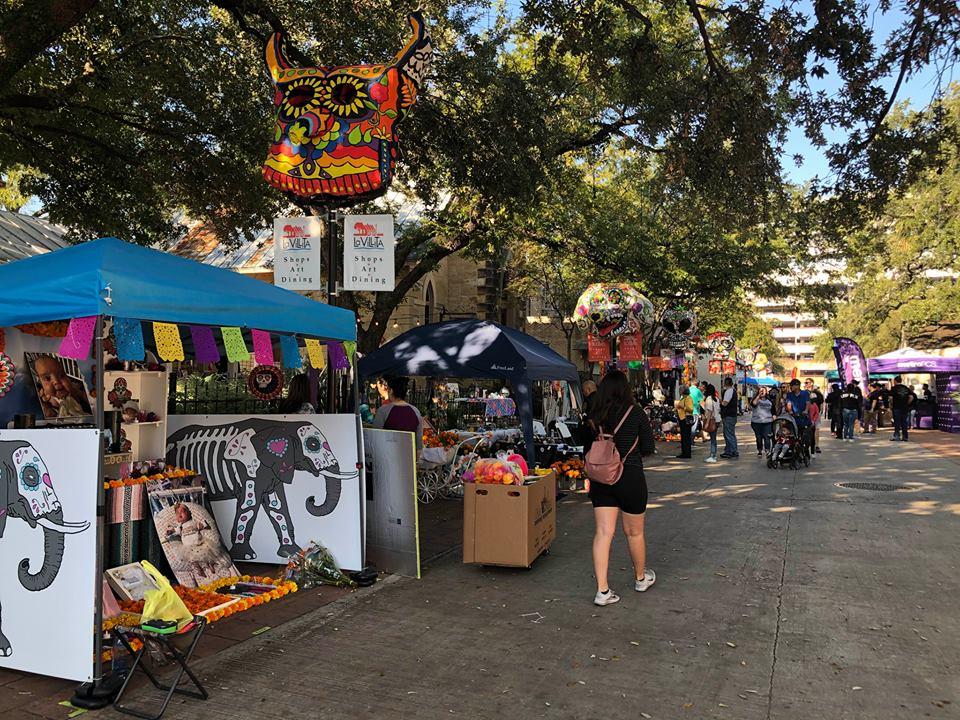 Dia De Los Muertos Celebration In San Antonio Texas