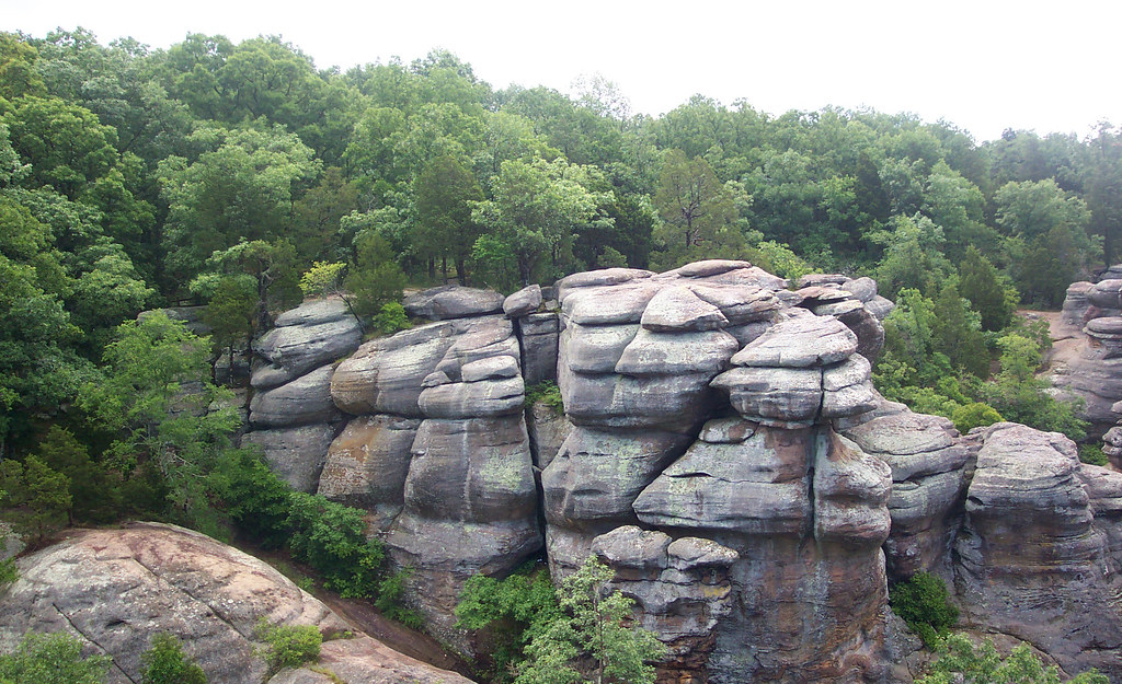 Garden Of The Gods In Herod Illinois Has The Best Rock Formations