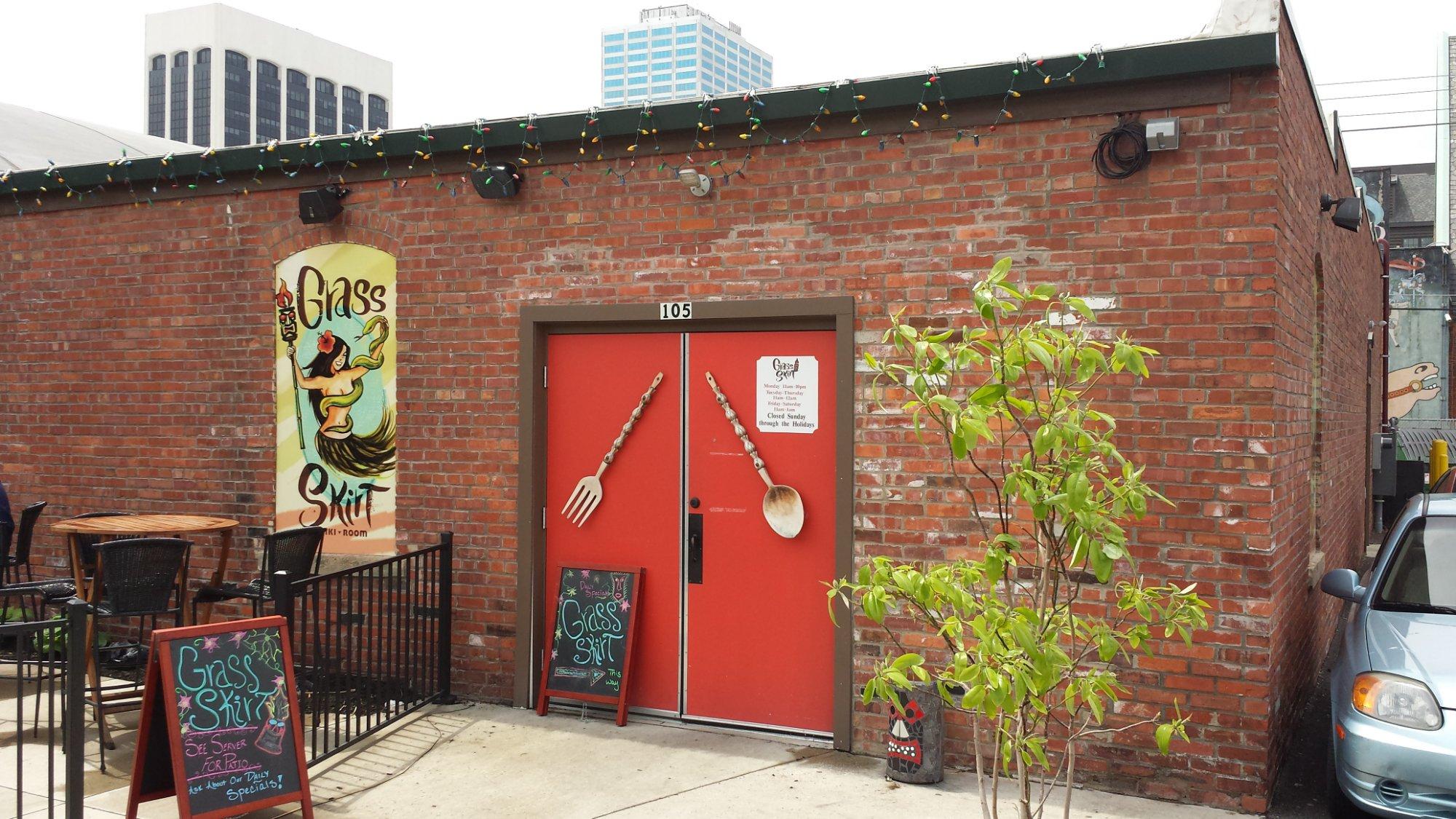 Best Tiki Bar And Restaurant In Ohio: Grass Skirt Tiki Room