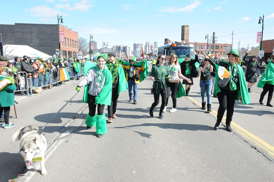 The Detroit St. Patrick's Day Parade Has Brought Cheer To Michigan For More Than 60 Years