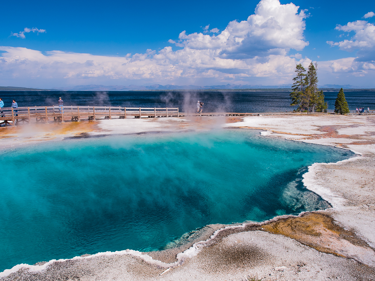 Yellowstone National Park In Wyoming Was Named One Of The 50 Most Beautiful Places In The World