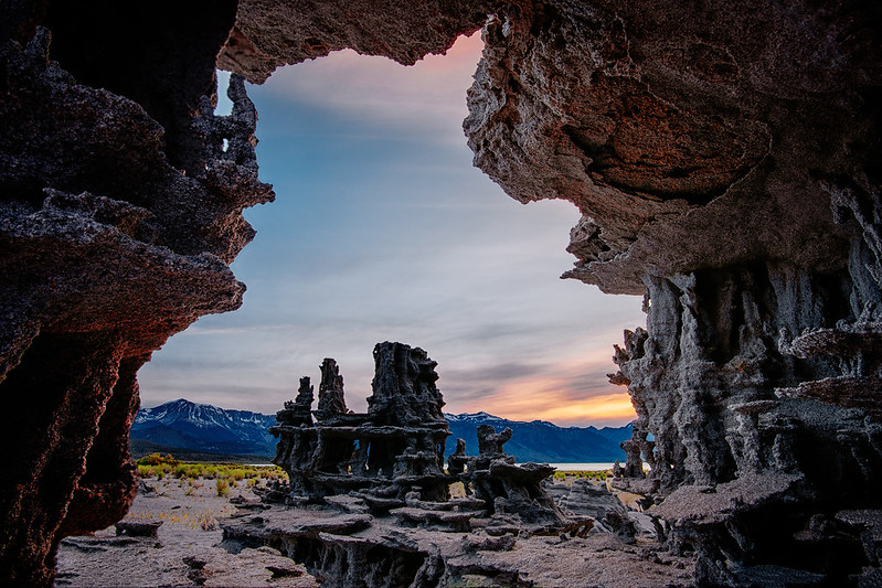 The Tufa Towers At Northern California's Mono Lake Look Like Something From Another Planet
