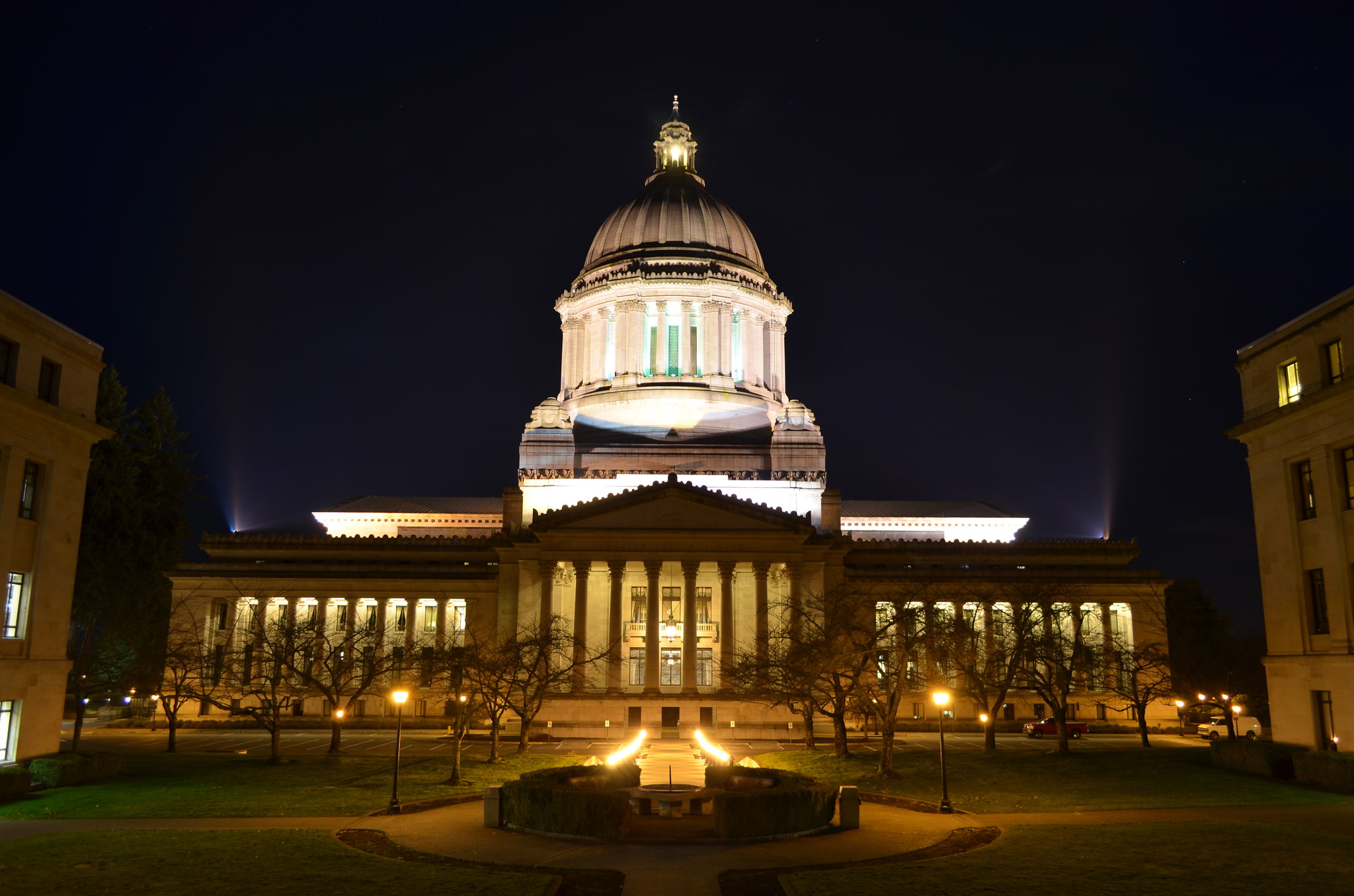 Take A Beautiful Virtual Tour Of The Washington State Capitol Building Today