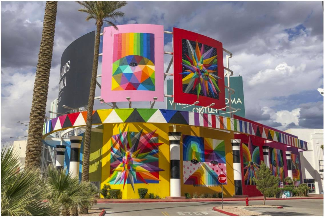 Prizm Outlets In Nevada Is Home To The Largest Collection Of Street Murals In The World