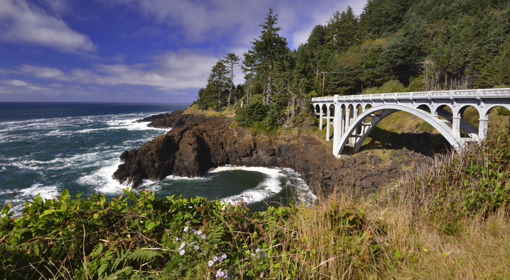 Short And Sweet, Oregon's Otter Crest Loop Includes Sweeping Ocean Views, A Bridge, And A Famous Punchbowl