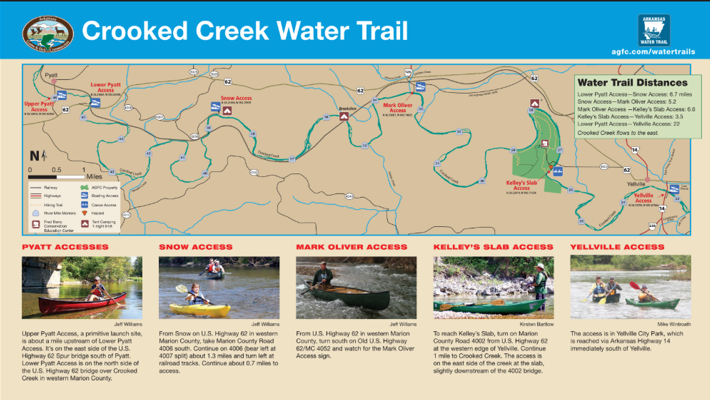 crooked creek arkansas map Crooked Creek Water Trail Is A Winding Paddle Through Arkansas crooked creek arkansas map