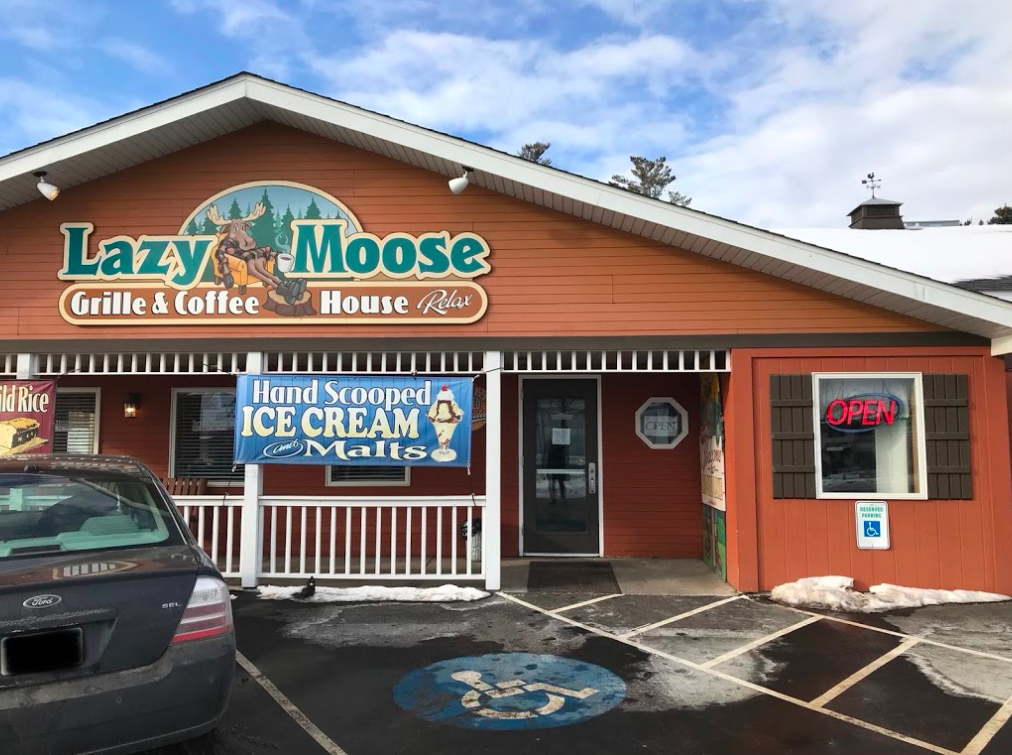 Minnesota Travelers Love To Stop For Homemade Breakfast At Lazy Moose In Moose Lake, Minnesota