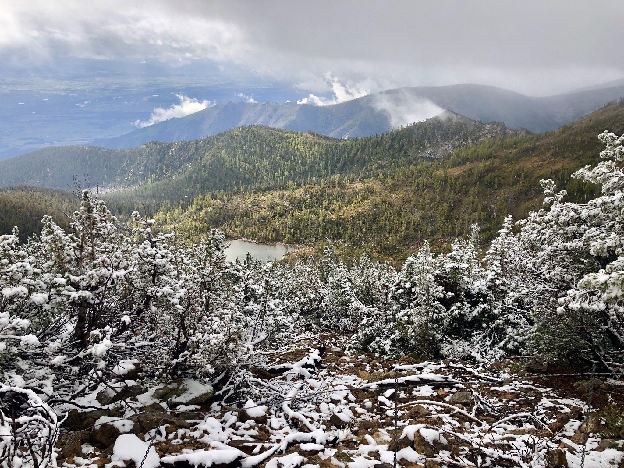 Enjoy Unparalleled Views Of Montana's Bitterroot Valley On The Saint Mary Peak Trail