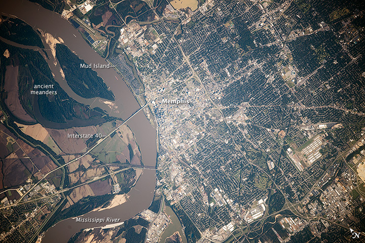 5 Unique Aerial Shots Of Tennessee From Outer Space