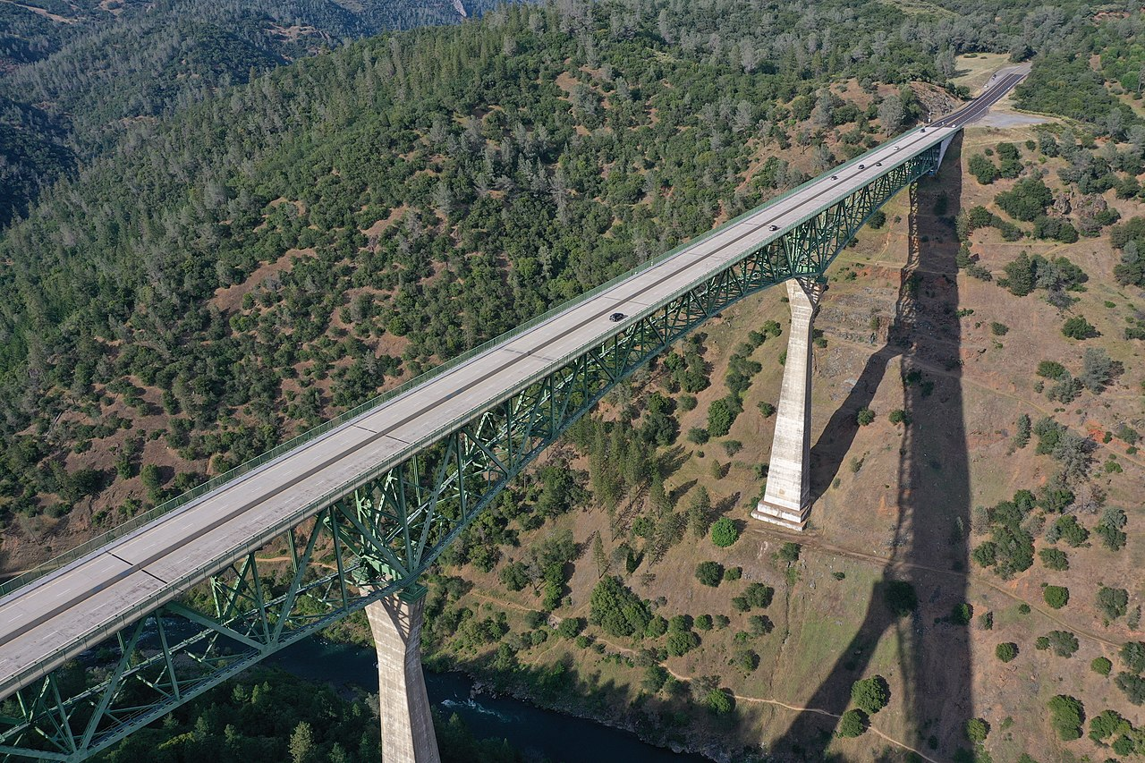 The Tallest, Most Impressive Bridge In Northern California Can Be Found In Placer County