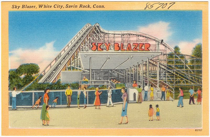 You Might Remember The Now Defunct Connecticut Theme Park, Savin Rock