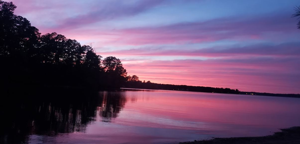 Check Out The Serenity Of Lake Greenwood In South Carolina