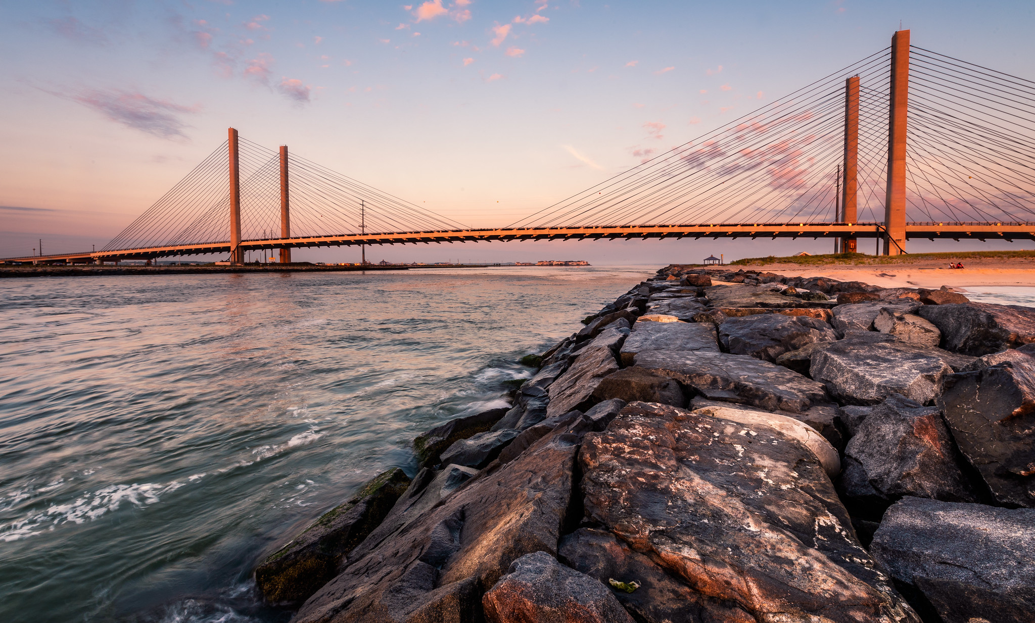 Delaware's Indian River Inlet Might Just Be The Best Place To Catch A Sunset