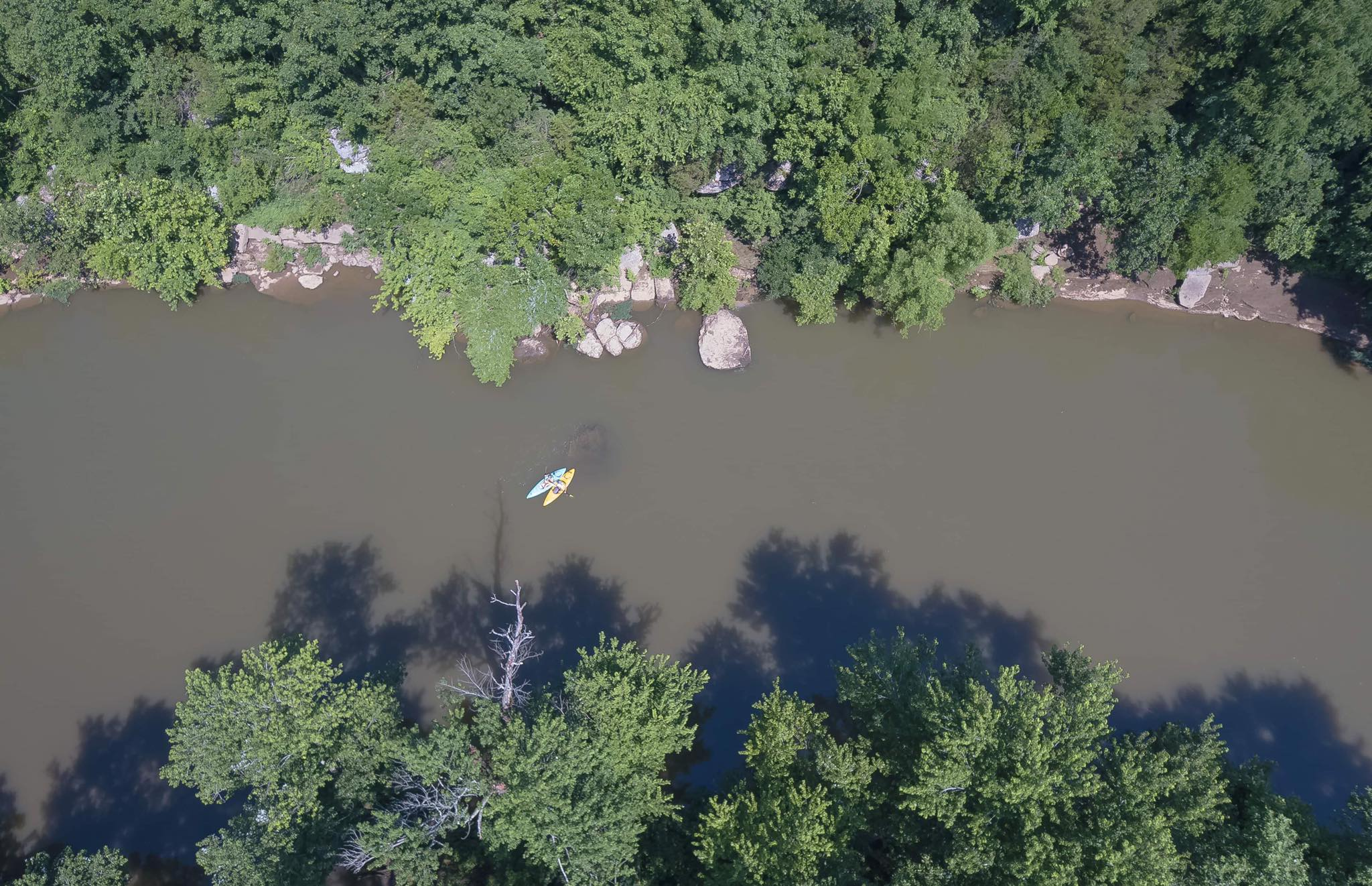 Rent A Canoe On The Stunning, Scenic Duck River In Tennessee With River Rat's Canoe Rental