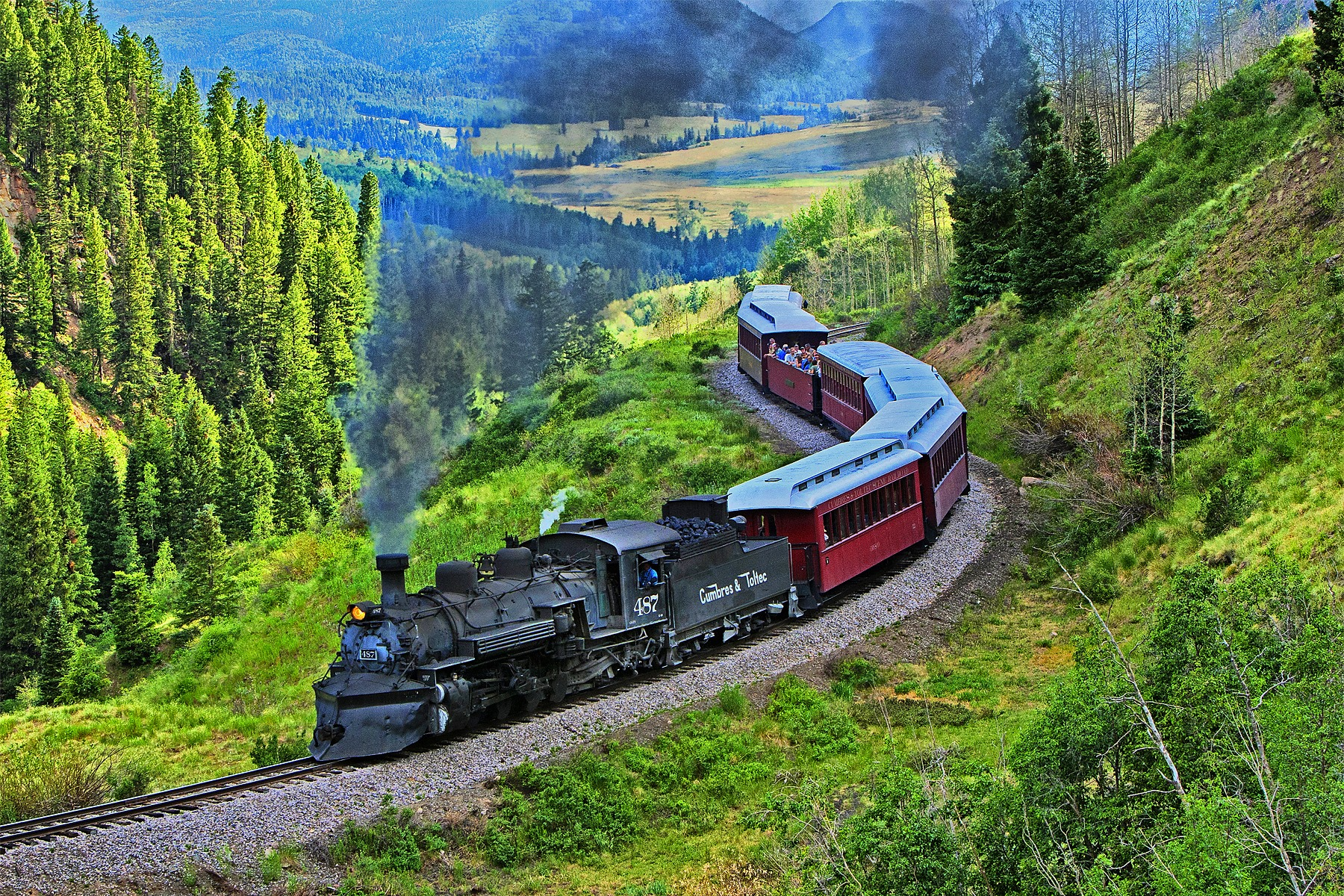 This Summer, Celebrate 50 Years Of Travel On New Mexico's Best Preserved Steam Locomotives