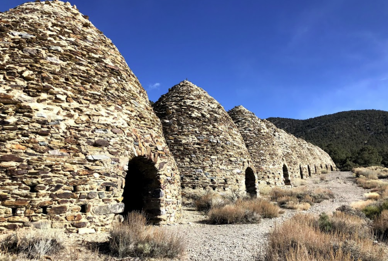 The 25-Foot High Wildrose Charcoal Kilns Abandoned In The Southern California Desert Are A Unique Relic From The 1800s