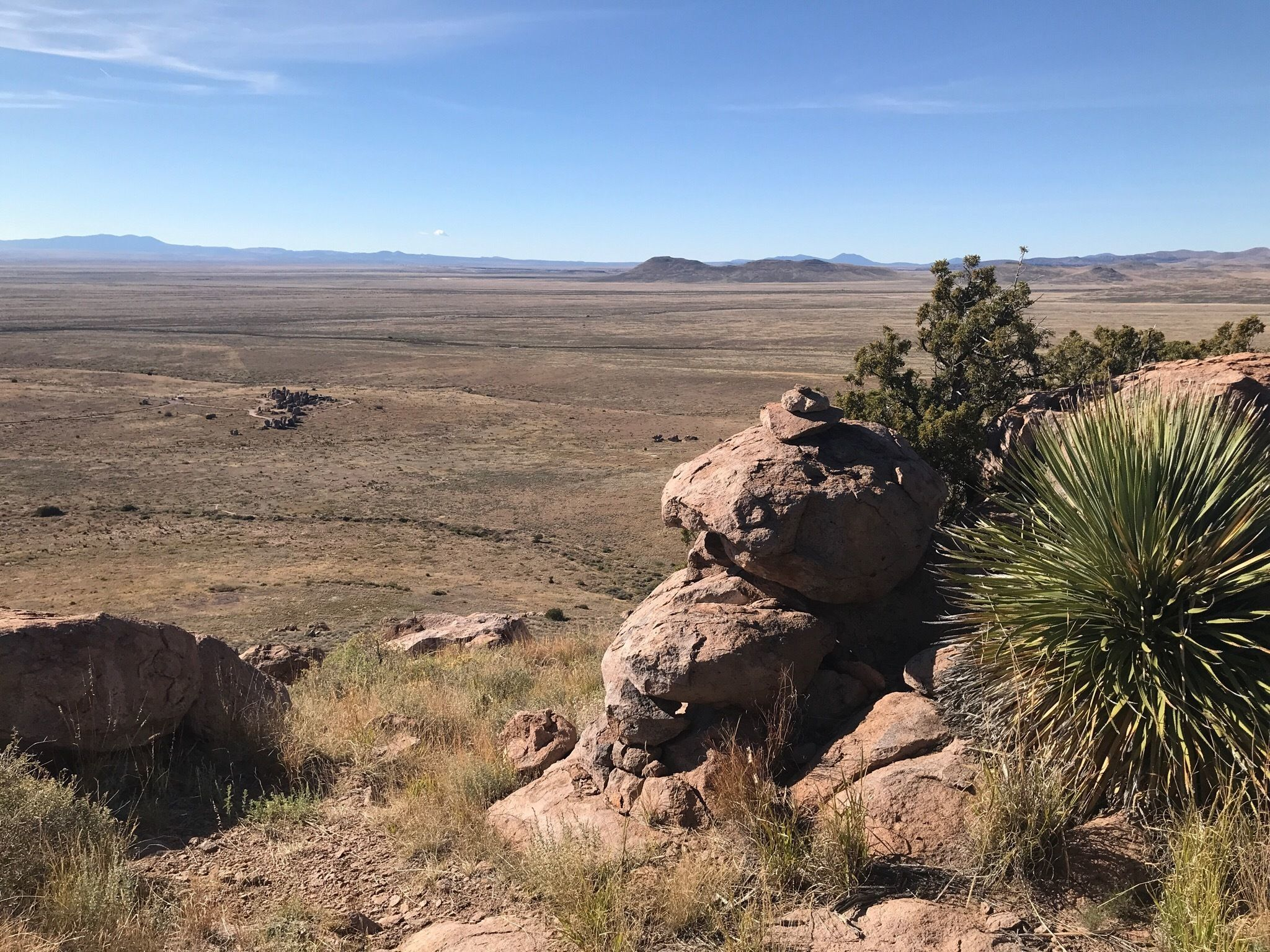 Explore Over 8 Miles Of Hiking Trails At City Of Rocks State Park in New Mexico