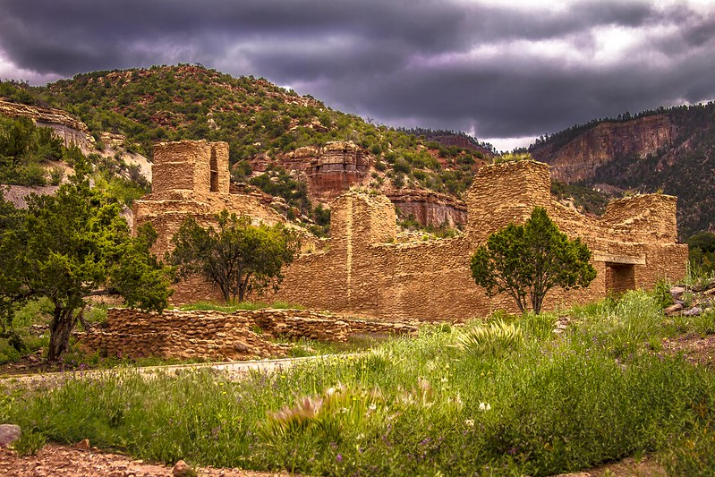 Visit The Remains Of A 700-Year-Old Historic Village At the Jemez Historic Site In New Mexico