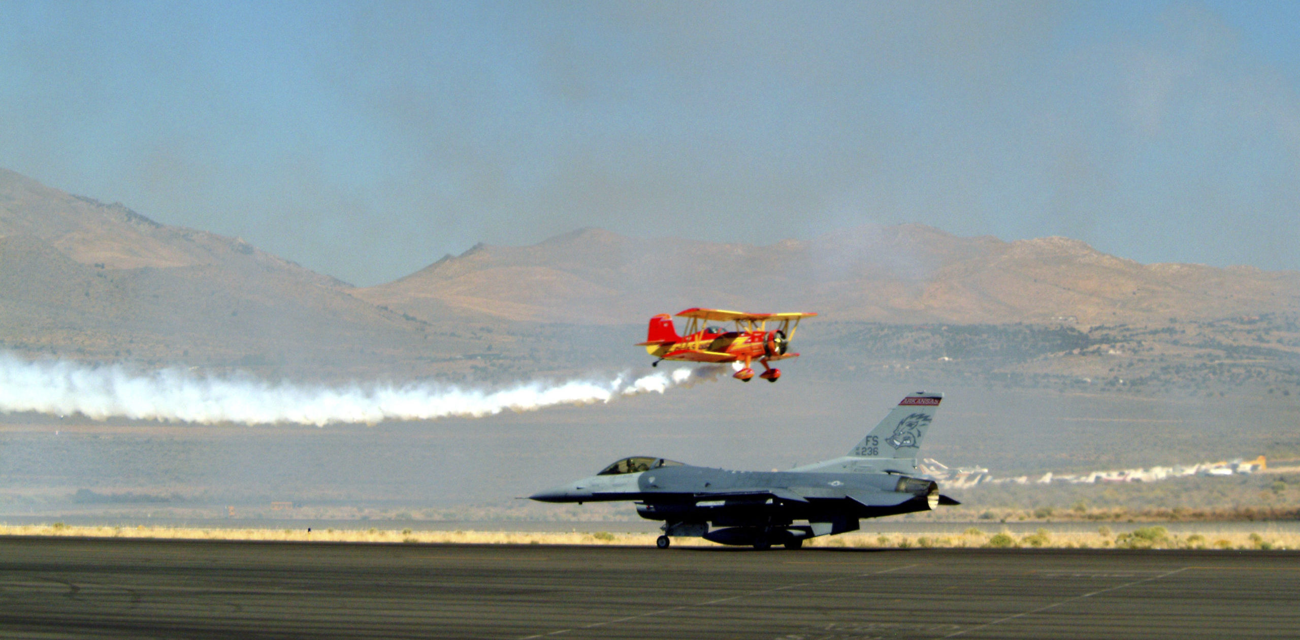 One Of The Best Air Shows In The Country Is Nevada's National Championship Air Races