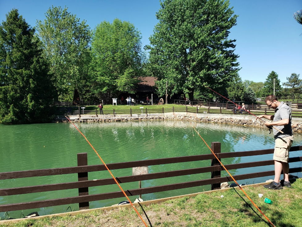 Spring Valley Trout Farm In Michigan Offers Fun For The ...